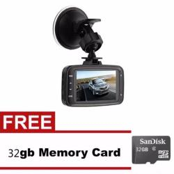 GS8000L Car DVR 1080P Camcorder with FREE 32GB Memory Card
