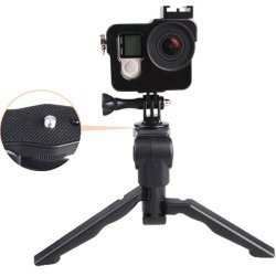 Hanyu Adjustable Desktop Camera Tripod Black
