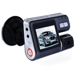 HD 1080P Auto Car DVR Camera Dash Cam Driving Video Recorder Dual Lens Dashboard Vehicle Camcorder - intl