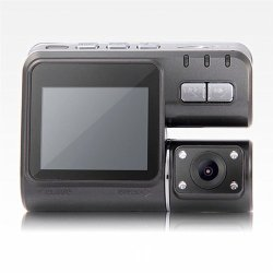 HD 720P Dual Lens IR Night Vision Car DVR Camera Dash Cam Video Recorder Motion Detection