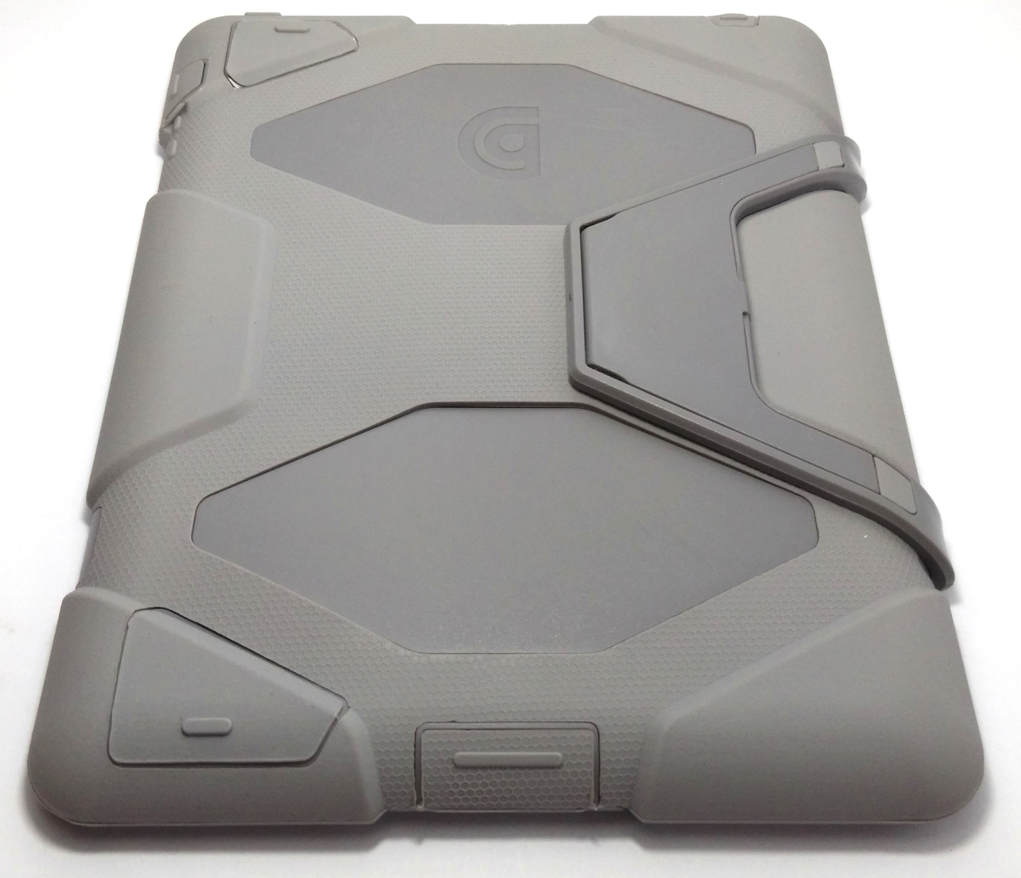 Heavy Duty Shockproof Case for iPad 2/3/4 (Grey)