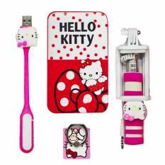 Hello Kitty Power Bank 10000mAh 5 pcs Gift Set
