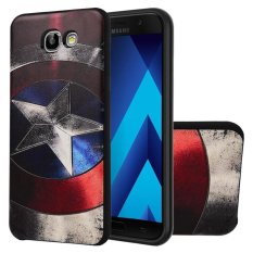 Hicase 3D Embossed Painting Series TPU Bumper Protective Back Phone Case Cover for Samsung Galaxy A5