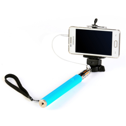 HKS Portable and Scalable Phone Camera Self-Pole (Blue) (Intl)