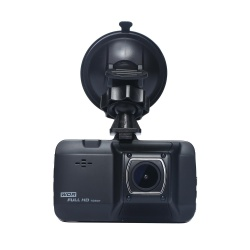 hogakeji Metal Housing Full HD 1080P Car Dash Cam DVR Camera Recorder with 4 Night Vision IR LEDs - intl