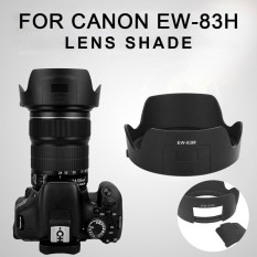 Hot Sale Camera Lens Cover Lens Hood Lens Shade Premium Hard Petals Abs Protector Dslr Canon Ew-83m - Intl By Simida Limited.