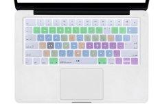 HRH Apple Final Cut Pro X Shortcuts Hot keys Design Silicone Keyboard Skin Cover for Apple