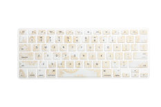 """HRH US Keyboard Cover Skin Film for Macbook Pro Retina Air 13"""" A1278 A1369 A1466"""