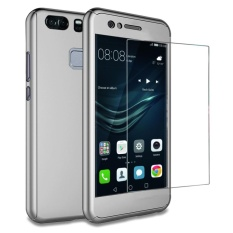 Huawei P9 Plus case , Mooncase 360° Full Protection Matte PC Hard Hybrid Ultra thin