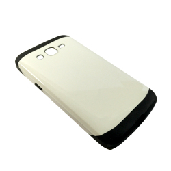 Hybrid Armor Case for Samsung Galaxy Grand 2 G7106 (White)