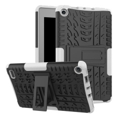 Hybrid Case Combo Shockproof Protective Shield Cover for Amazon Fire 7 Tablet (7th Generation,
