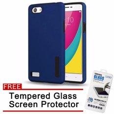Case For Oppo Neo 7 A33 Bumper Slide Mirror Black Free Iring Source · Case for Oppo Neo7 A33 Black with Free Tempered Glass
