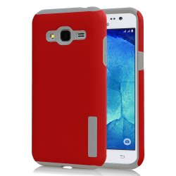 Incipio TPU Back Case Cover for Samsung Galaxy J1 2016 / J120 (Red)