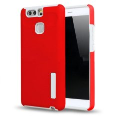 low priced 39eb1 1fdac Incipio TPU Back Case Cover , hardshell case with impact absorbing core for  HUAWEI P9 (RED)
