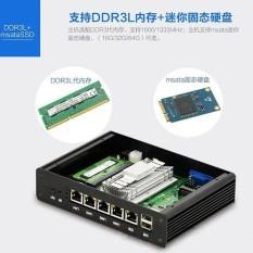 Intel Celeron Bay Trail J1900 Fanless Mini PC with 2GB DDR3L RAM + 24GB SSD  ,VGA and 4 X RJ45 LAN for pfsense - intl Philippines