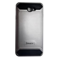 iPaky Tech Armor Shockproof Case for Samsung Galaxy J7 Prime (Silver)