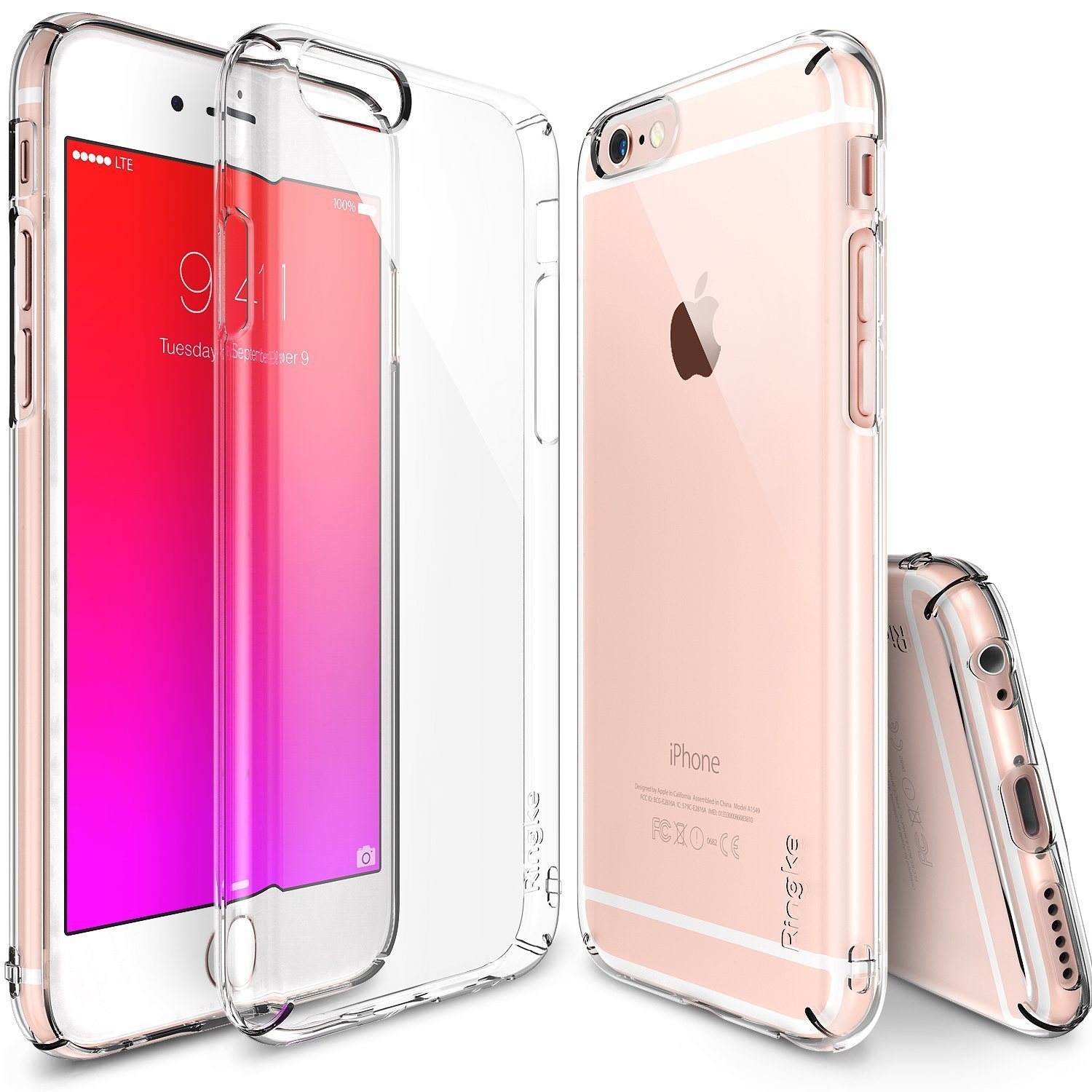 iPhone 6S Ringke Slim Dual Coating Lightweight Case (Crystal View)