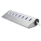 Jo.In Practical Creative 7 Ports Aluminum Alloy Silver USB 3.0 HUB - thumbnail 5