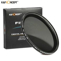 K&f Concept 58mm Variable Nd Filter Nd2 To Nd400 Fader Neutral Density 2-9stops (mega Kart) By Mega Kart.