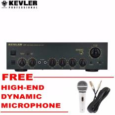 Kevler GX7 High Powered Amplifier 800W x 2 with Free High End Microphone