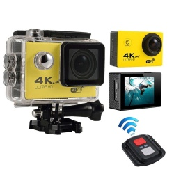 koklopo 4K HD Wifi Action Camera 2.0 Inch 170 Degree Wide Angle Lens Action Camera WIFI 4k Waterproof Sports Action Camera,Silver - intl