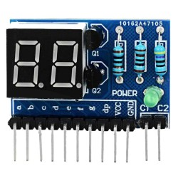 LDTR - SMG2 0.36 inch 2 Bit Digital Tube LED Module for Arduino Lovers - intl