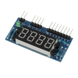 LDTR - SMG4 4 Bits Common Anode Digital Tube LED Display Module - Colormix - intl