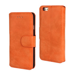 Leather Case for Apple iPhone 6/6S iphone6 4.7 inch (Orange) - intl