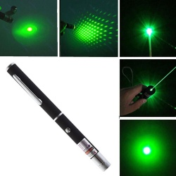 leegoal Powerful Green Laser Pointer Pen Visible Beam Light 5mW Lazer High Power 532n EA