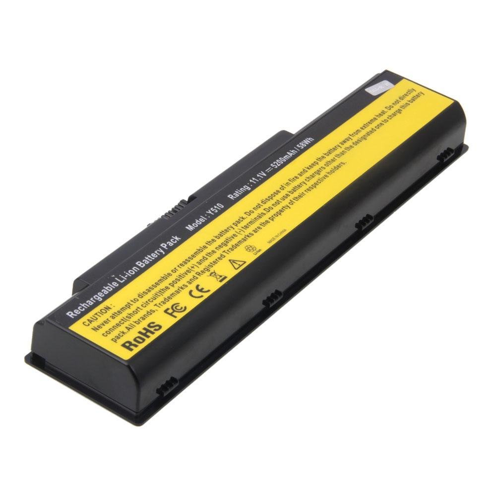 Lenovo IdeaPad Y730 Laptop Battery (Black)