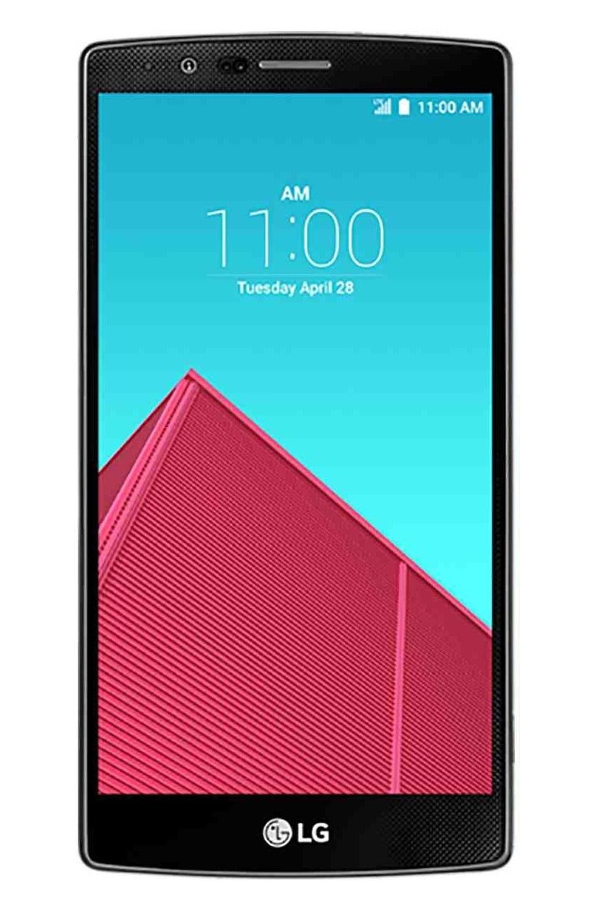 LG G4 4G LTE 32GB ROM 3GB - Leather Black - thumbnail
