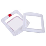 Lockable Cat Flap Door Kitten Dog Pet Lock Suitable for Any Wall White - thumbnail 4