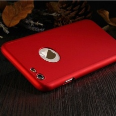 Logo Circle Luxury 360 Degree Full Body Protection + Tempered Glass Anti-Drop Case For