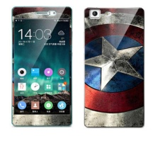 Luxury 3D Painting Front+Back Full Case Cover Color Tempered Glass .