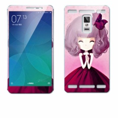 Luxury 3D Painting Front+Back Full Case Cover Color Tempered Glass Case For vivo xplay3s