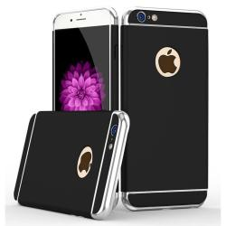 Luxury 3in1 Metallic Electroplate Case Chrome Hard PC Matte Case for iPhone 7 Plus