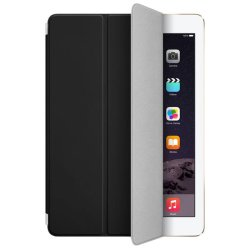 Slim Leather Smart Cover Skin for iPad Air 2 (Black0