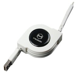 Mcdodo Strechable Cable 2 in 1 Lightning & Micro USB MCA-0480/WH (White)