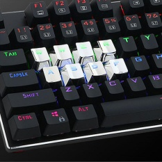 Mechanical Keyboard Caps PBT Plating Electroplate 12Pcs Keycap For Game Machine - intl