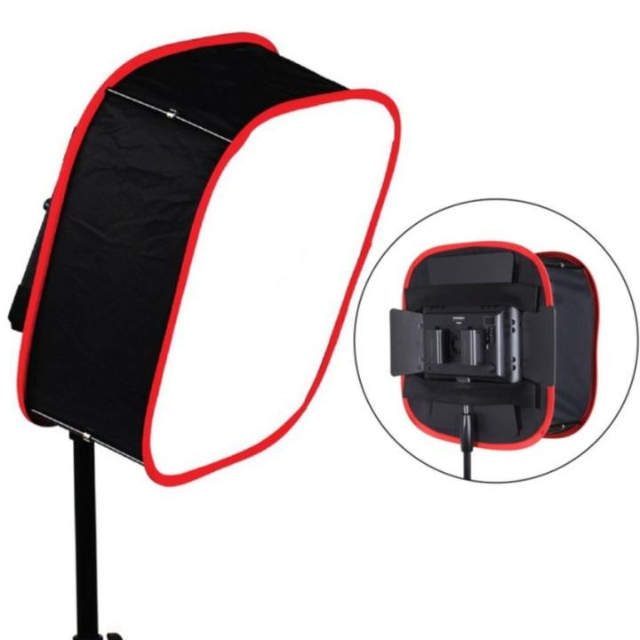 Meking Instant Foldable Collapsible Softbox Diffuser For LED LightPanel YN900 600 - intl