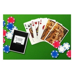 Mesa Verde National Park. Colorado - Cliff Palace Photograph(Playing Card Deck - 52 Card Poker Size with Jokers) - intl