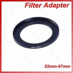 Metal 52mm-67mm Step Up Filter Ring 52-67 Mm 52 To 67 Stepping Adapter - Intl By Kingstones.
