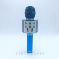 Microphone Wireless Karaoke Bluetooth Handheld Mic Hifi Speaker Ws858 By Septwolves General Merchandise.
