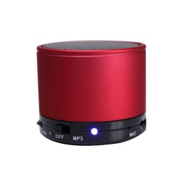Mini Bluetooth Speaker (Red)