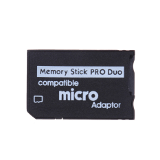 Mini Memory Stick Pro Duo Card Reader Micro SD TF to MS Card Adapter - intl