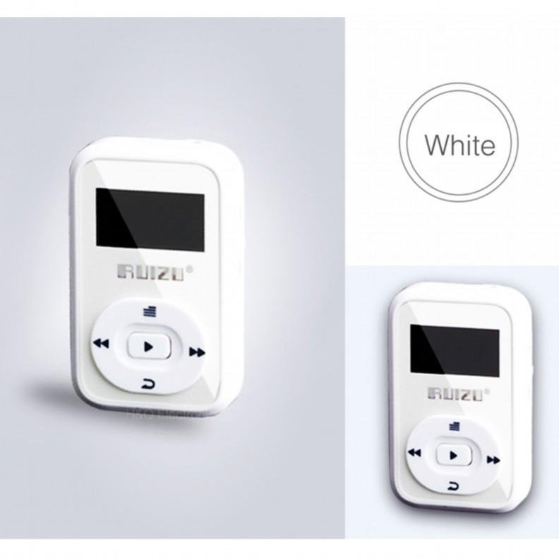 Mini Original RUIZU X26 Clip Bluetooth MP3 player 8GB Sport Bluetooth Mp3 Music Player Recorder FM
