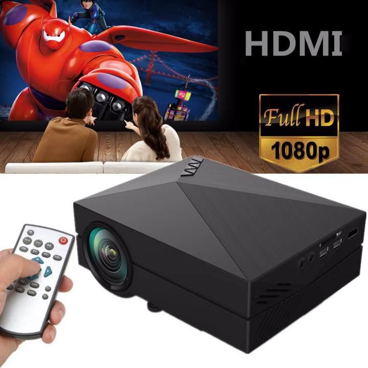 Mini Home Cinema Theater 1080p Hd Multimedia Usb Led: À�Flash Deal】1000 Lumens Mini Home Cinema Theater LED LCD