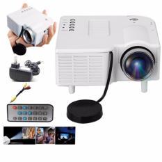 Mini Unic UC28 Portable Mini Ultra HD Projector Cinema Streaming (White)