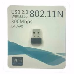 Mini USB WiFi Adapter N 802.11 b/g/n Wi-Fi Dongle 300Mbps