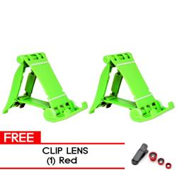 MMC  2Pcs. LS-12 Green  with free Cliplens Red